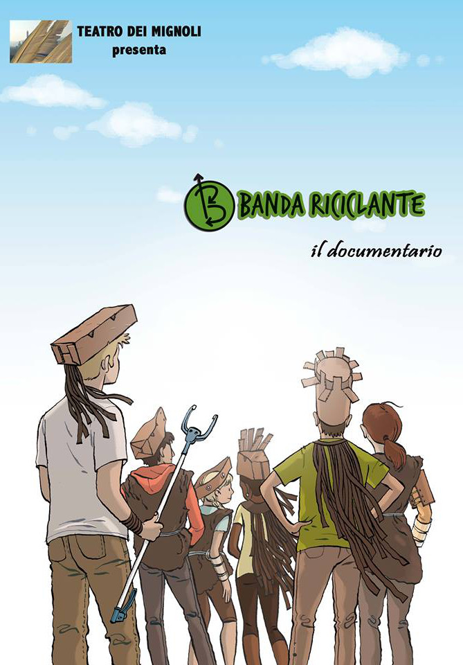 "Banda Riciclante<h3 style=""font-size:10px; line-height:20px;"">di Davide Rizzo</h3>"