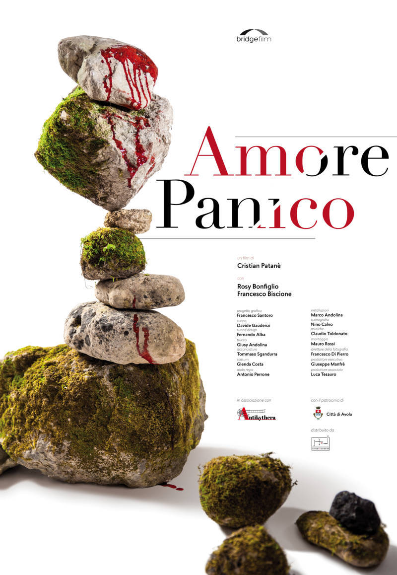 "Amore Panico<h3 style=""font-size:10px; line-height:20px;"">di Cristian Patanè</h3>"